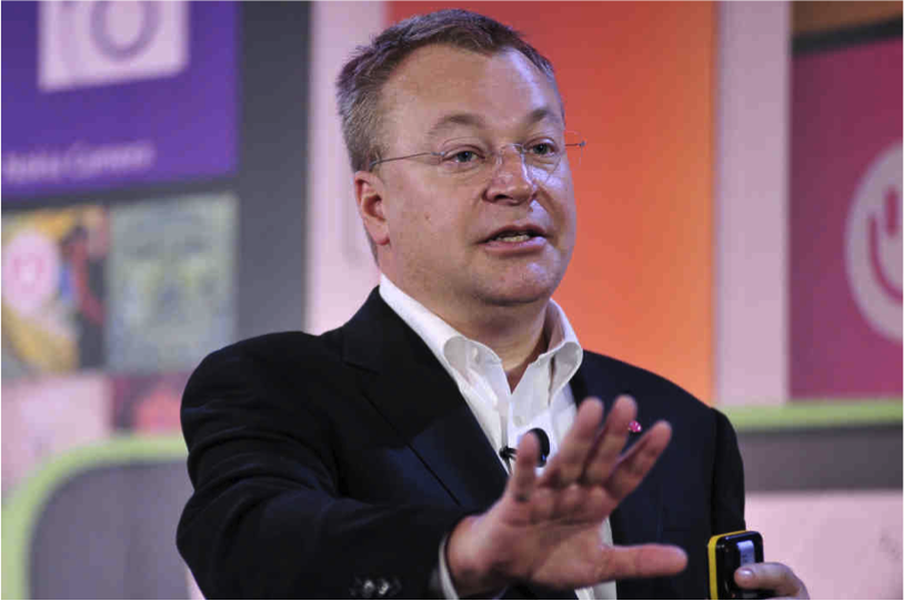 Elop of Microsoft. His use of gobbledygook to lay off thousands has made him a laughingstock.